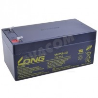 Baterie Long 12V 3Ah olověný akumulátor F1