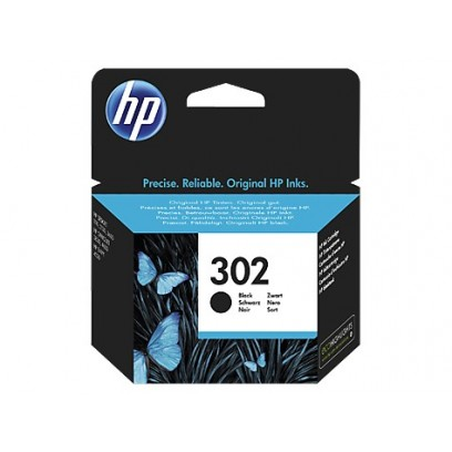 HP F6U66AE 302 Black Original Ink Cartridge