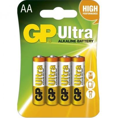 GP AA Ultra alkalická - 4 ks