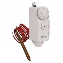 Emos T80F příložný termostat, manuální, s kapilárovým čidlem