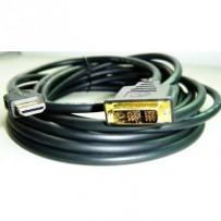 Kabel GEMBIRD C-TECH HDMI-DVI 4,5m, 1.3, M/M stíněný, zlacené kontakty