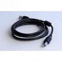 Kabel GEMBIRD C-TECH USB A-B 4,5m 2.0 HQ s ferritovým jádrem