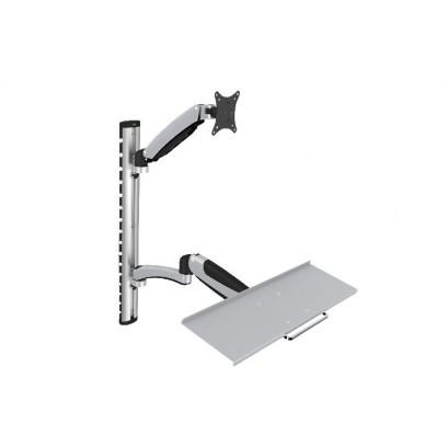 """Digitus držák na monitor a klávesnici do 69cm (27""""), flexibilní, 8kg"""