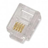 UTP konektor OPTIX RJ11 6P4C balení 100ks