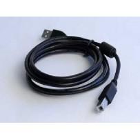 Kabel GEMBIRD USB A-B 3m 2.0 HQ s ferritovým jádrem