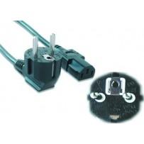 Kabel GEMBIRD síťový 3m VDE 220/230V napájecí