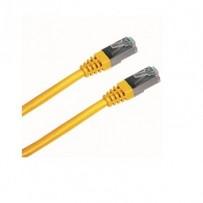 DATACOM Patch cord FTP CAT5E 1m žlutý