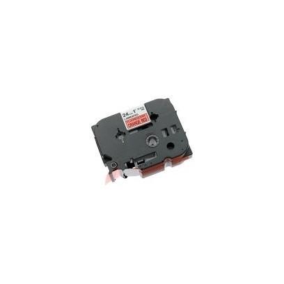Brother - TZe-B51, signální oranžová / černá (24mm)