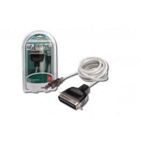 Digitus Kabel tiskárny USB na Centronics USB na IEEE 1284, CENT36 M, délka 1,8 M