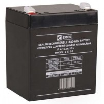 Emos baterie SLA 12V / 5 Ah, Faston 6.3 (250)