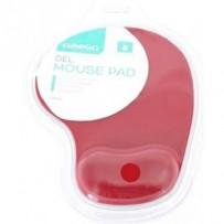OMEGA gelová podložka pod myš červená