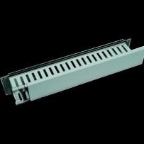 """19"""" vyvazovací panel 2U jednostranná plastová lišta"""