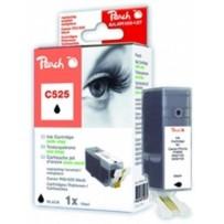 PEACH kompatibilní cartridge Canon PGI-525BK, Black, 19 ml
