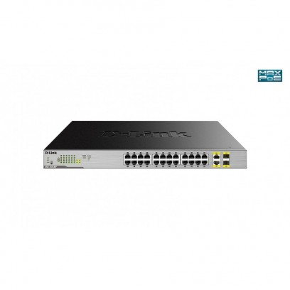 D-Link DGS-1026MP 24-Port Desktop Gigabit PoE + 2GE Combo Switch