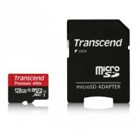 Transcend 128GB microSDXC UHS-I 400x Premium (Class 10) paměťová karta (s adaptérem)