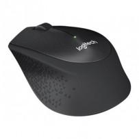 Logitech myš Wireless M330 Silent Plus, optická, bezdrátová, 3 tlačítka, černá, 1000dpi