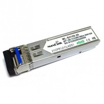 MaxLink 1.25G SFP optický modul, WDM, SM, Tx 1310/Rx1550nm, 20km, 1x LC konektor, DDM, Cisco compatible