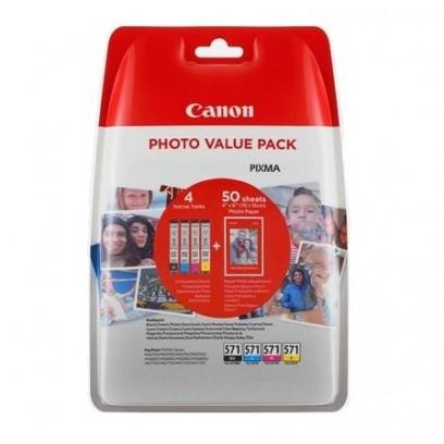 Canon cartridge CLI-571XL C/M/Y/BK PHOTO VALUE pack