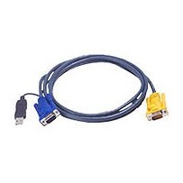 ATEN integrovaný kabel KVM USB 2L-5201U 1.2 M