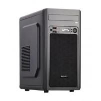 EVOLVEO M2, case mATX, 2x USB2.0 / 1x USB3.0 / 2x 120mm LED / 1x 140mm/ černý