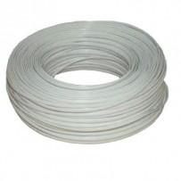 DATACOM Telefonní kabel 4-žilový lanko 100m bílý