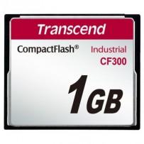 Transcend 1GB INDUSTRIAL CF300 CF CARD, high speed 300X paměťová karta (SLC)