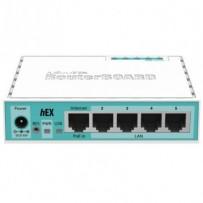 MikroTik RouterBOARD RB750Gr3, hEX router, Qualcomm QCA8337-AL3C-R, 256MB RAM, 5xGLAN
