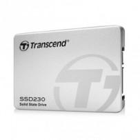 TRANSCEND SSD230S 128GB SSD disk 2.5'' SATA III, 3D TLC, Aluminium casing, 560MB/s R, 380MB/s W, stříbrný