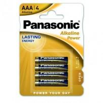 Panasonic LR03 Alkaline Power (alkalická, AAA, 1,5V, BL4) 4ks - Blister