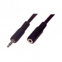 Kabel CABLEXPERT prodlouž jack 3,5mm M/F, 5m audio