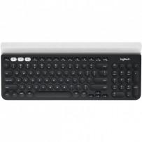 Logitech klávesnice Wireless Keyboard K780, US, šedá/ bílá
