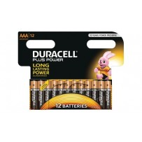 Duracell MN2400B12 Plus Power AAA - 12 Pack