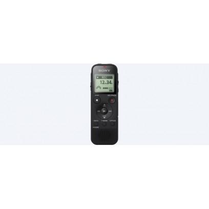 SONY digitální záznamník ICD-PX470 - podpora karet micro SD, systém S-Microphone, 4GB, USB, PCM, režim zaostření