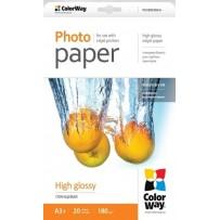 COLORWAY fotopapír/ high glossy 180g/m2, A3+/ 20 kusů
