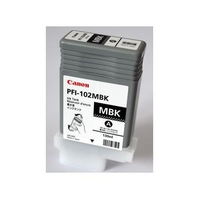 Canon cartridge PFI-102MBK iPF-500, 6x0, 7xx, LP-xx (PFI102MBK)