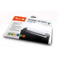 PEACH olejový papír pro údržbu skartovaček Shredder Service Kit PS100-00, 12 listů