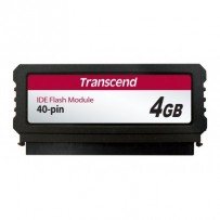 Transcend PTM520 4GB IDE FLASH modul 40pin Vertical (SLC), SMI (V)