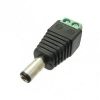 DC napájecí konektor 2.1mm se svorkovnicí - DCSV21