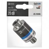 Emos AMP-20, zesilovač DVB-T2/T, 20 dB