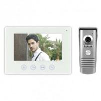 "Emos videotelefon H2014, barevný 7"" LCD + kamera s 1 tlačítkem, WiFi, bílá"
