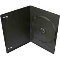 COVER IT Krabička na 1 DVD 7mm slim černý - karton 100ks
