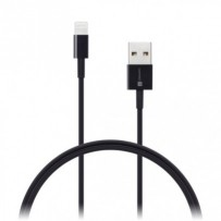 CONNECT IT Wirez Apple Lightning -- USB-A, černý, 0,5 m