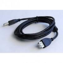 Kabel CABLEXPERT USB A-A 4,5m 2.0 prodlužovací HQ s ferritovým jádrem