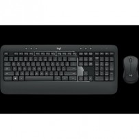 Logitech klávesnice s myší Wireless Combo MK540 ADVANCED, CZ/SK, USB, unifying přijímač, tichá, černá