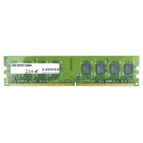 2-Power 1GB PC2-5300U 667MHz DDR2 Non-ECC CL5 DIMM 1Rx8 ( DOŽIVOTNÍ ZÁRUKA )