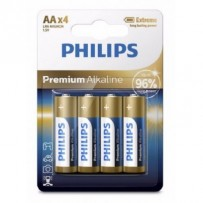 Philips baterie 4x AA (1,5V), řada Premium Alkaline