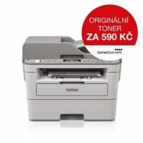 Brother MFC-B7715DW TONER BENEFIT tiskárna PCL 34 str./min, kopírka, skener, USB, duplexní tisk, LAN, WiFi, ADF, FAX