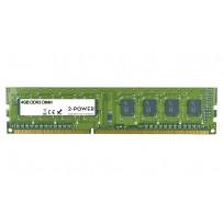 2-Power 4GB PC3-10600U 1333MHz DDR3 CL9 Non-ECC DIMM 2Rx8 ( DOŽIVOTNÍ ZÁRUKA )