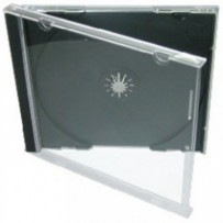 COVER IT Krabička na 1 CD 10mm jewel box + tray - karton 200ks