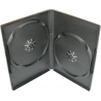 COVER IT Krabička na 2 DVD 9mm slim černý - karton 100ks